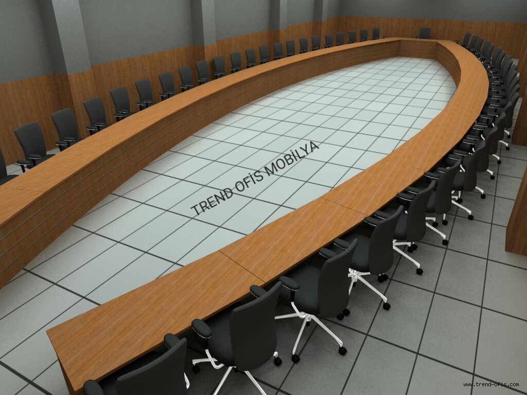 Almira U Toplantı Masası