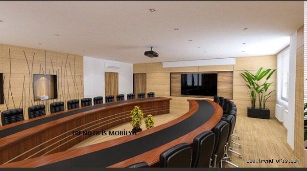 Çelik U Toplantı Masası
