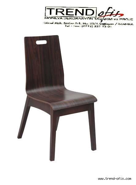 A 124 Erguvan Sandalye