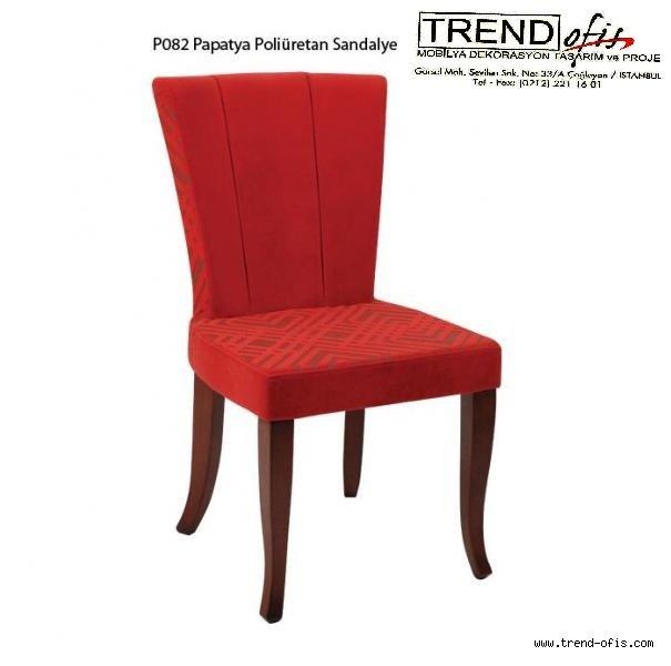 P082 Papatya Poli. Sandalye