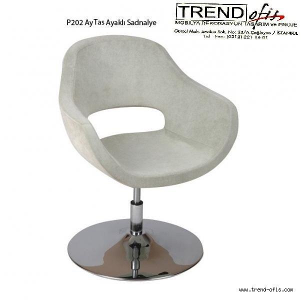 P202 Ay Taslı Ayaklı Sandalye