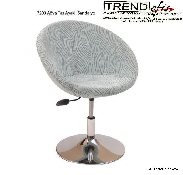 P203 Ağv Taslı Ayaklı Sandalye