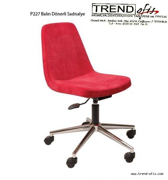 P227 Balın Dönerli Sandalye